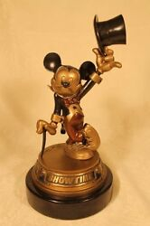 Limited Edition Bill Toma Bronze Disney Statue Only 200 Ever Made