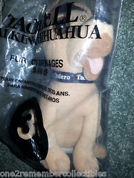 1998 Taco Bell Applause Talking Chihuahua Dog Plush Toy Viva Gorditas New In Bag