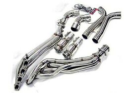 Obx Long Tube Header Exhaust For 2007 2008 2009 Mustang Shelby Gt500 5.4l