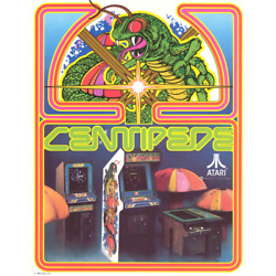 Centipede Free Play And High Score Save Kit Arcade