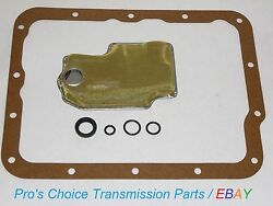 Oil Filter Service Kit With Shifter Control Lever Seals --fits Fmx Transmissions