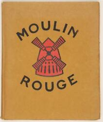 Original Vintage Book Of Lithographs By Van Houten Moulin Rouge Henry-jacques