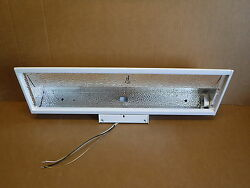 Insight Lighting Fixture 8346-02 White Industrial Commercial School Lights
