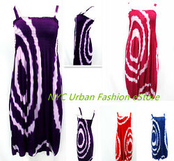 New Women Dress Simple Beach Cover up Sexy Clubbing Sundress U.S Seller HY 2218 $7.40