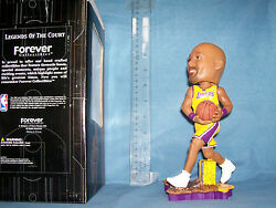 2003 Karl Malone Bobblehead Los Angeles Lakers Mint In Box 328 Of 5000