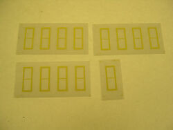 Set Of Reproduction Windows For American Flyer 593 Signal Tower