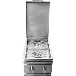 Rcs Gas Grills Stainless Steel Double Sided Burner-propane