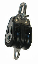 Nautos Ht 2033 - Dynamic Line 30mm - Double With Becket - Sailboat Block