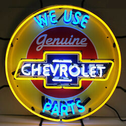Welcome To Las Vegas Neon Sign Solid Steel Can 75 Pounds Old Strip Casino Chips