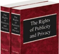 The Rights Of Publicity And Privacy 2d 2016 2 Volume Paperback Thomson Reuters