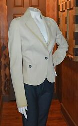 Grifoni Paperthin Runway Leather Jacket 46 Italy 1899