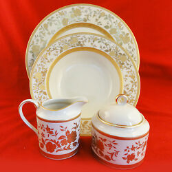 English Manor Mikasa Fina China L5520 Completer Set Made In Japan New Never Used