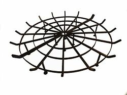 Xxl H-d Round Spider Grates For Outdoor Fire Pits Fee Log Hmultiple Sizes