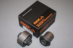 Rocar 2pcs Ds/ps Front Lower Arm Bushings For 02 03 04 05 06 Acura Rsx