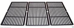 Coleman Gas Grill Cast Iron Coated Set Cooking Grates 34 7/8 X 17 5/8 69983