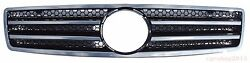 Front Grille Mercedes Benz SL W129 R129 SL500 SL600 AMG-Style 90-02 Chrome