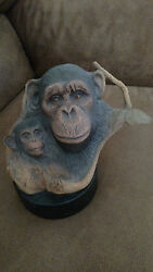 Rick Cain Cameo Magestic Cradle Limited Edition 587/2000 Monkeys 1991