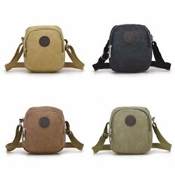 Messenger Bag Sport Casual Outdoor Travel Hiking Canvas Crossbody Over Shoulder AU $11.99