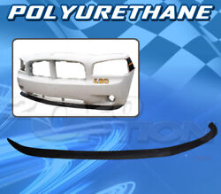 For Dodge Charger 06-10 T-oe Style Front Bumper Lip Body Kit Polyurethane Pu