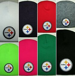 Pittsburgh Steelers Beanie ✨skull Cap ✨classic Nfl Patch/logo ✨9 Hot Colors ✨new