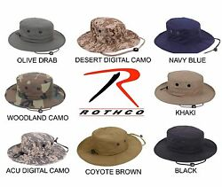 Rothco Military Type Tactical Adjustable Boonie Hat Cap One size fits all New  $13.99