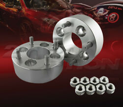 50mm 2 Thick 4x100 To 4x114.3 Wheel Adapters Spacers Converter M12x1.5 Studs
