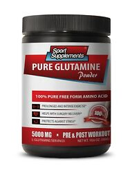 Protein Pills - Pure Glutamine Powder 5000mg - Post Workout Recovery 1b