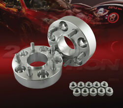 2pc 38mm 1.5 Thick 5x114.3 Hub Centric Wheel Adapters Spacers M12x1.5 67.1mm