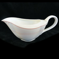 Palatino Pink Villeroy And Boch Gravy Boat Only 7.75 New West Germany