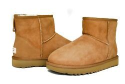 UGG Women's Classic Mini II 1016222 in Black Chestnut NEW Sz 5-12