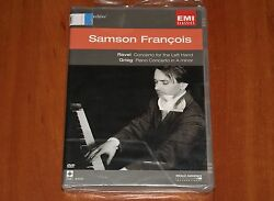 Samson Francois Emi Dvd Ravel Concerto For Left Hand And Grieg Piano A Minor New