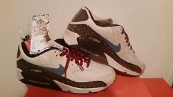 Menand039s Nike Air Max 90 Size 11 Black History Month Freedom Train Bmn987-m4-c1