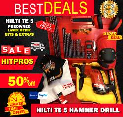 Hilti Te 5 Preowned, Free Laser Meter, Bits And Extras, Fast Ship