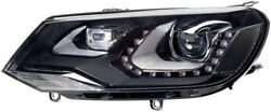 HELLA Bi xenon LEFT side AFS headlight with DRL 8IM FOR VW Touareg from 10