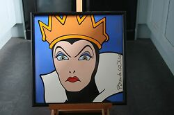 Limited Edition Tile Of The Queen From Snow White.