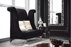 Chair - High Back Chair - Double High Back Chair - Savoy Black - Double Seat