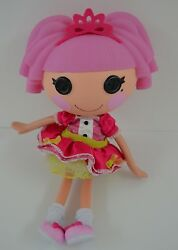 Lalaloopsyjewel Sparkles Doll Full Sized Pink Tiara Dress Shoes Outfit Retired