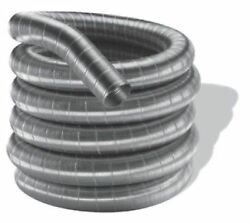 Duraflex Stainless Steel Single Wall Pipe For Chimney - 8 X 35'