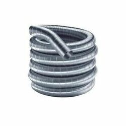 Flex-all Single Ply Stainless Steel Custom Chimney Liner - 8 X 90and039