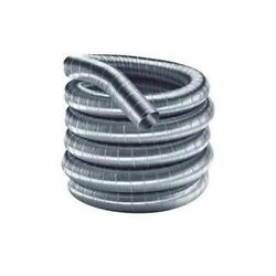 Flex-all Single Ply Stainless Steel Custom Chimney Liner - 9 X 90and039