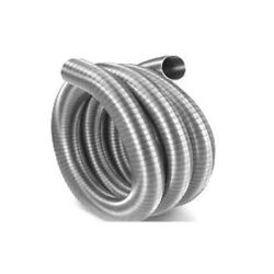Flex-all Single Ply Stainless Steel Chimney Liner - 7 X 20and039