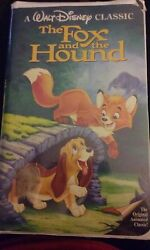 The Fox And The Hound Vhs 1994 Black Diamond Collection
