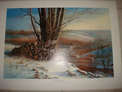 Terry Redlin Breaking Away Ducks Unlimited Special Edition 16/40 Signed Du