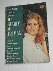 Vintage Peter Basch's Camera Records The Beauty Of Woman Whitestone Book 1959
