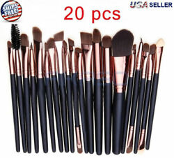 20pcs Makeup BRUSHES Kit Set Powder Foundation Eyeshadow Eyeliner Lip Brush NEW $6.79