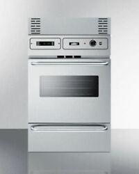 Stainless Steel 220v Electric Wall Oven With Digital Clock/timer