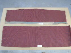 1963 Ford Galaxie Red Cloth Insterts