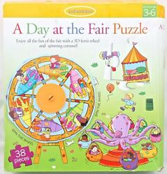 A Day At The Fair Puzzle 3d Ferris Wheel And Spinning Carousel Amusement Park Kids