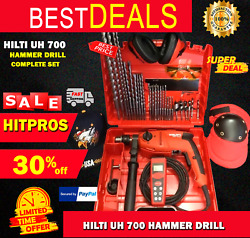 Hilti Uh 700 Hammer Drill, New, Free Laser Meter, A Lot Of Extras, Fast Ship