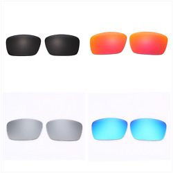 Set of 4 Pairs Replacement Lenses Lens for Oakley FUEL CELL Sunglass Frame